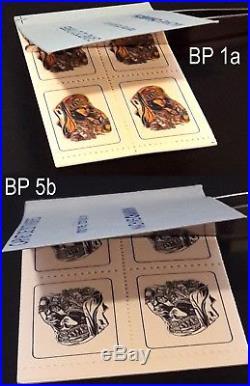 0076E Vignette expérimentale essai Beauté Palmyre 2 carnets diff N (voir desc)