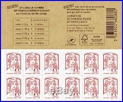 100 carnets de timbres prioritaires 20g Autocollant pour affranchissement