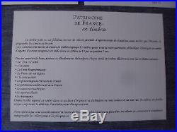 11 Bloc Feuillet Patrimoine De France 2019 Avec Bloc Vermillon 10000 Exemplaire