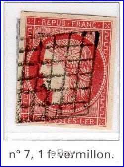 150617. EXCEPTIONNELLE COLLECTION 1849 A 1960. Voir détail et 12 scanners