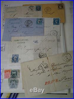 1849-1958FRANKREICH Einmaliger Bestand im Steckbuch, o, x, xx, # ab Klassik. Spezial