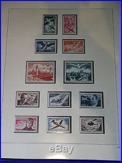 1937-72 FRANKREICH kompl. Postfrisch in 3 Luxus Safe-Alben. Hoher Kat. Wert