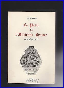 1965 Lenain La Poste De L Ancienne France