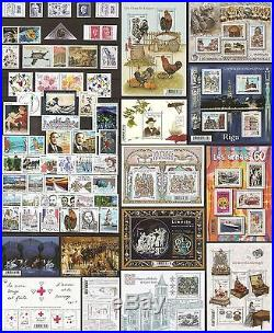 2015 FRANCE NEUFS LUXE 92 timbres année complète