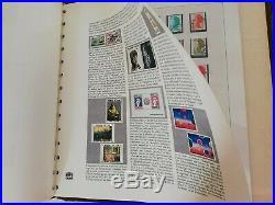 3 albums Safe Dual Complets de timbres français oblitérés de 1960 à 1983