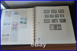 8 albums safe Dual pour collection de timbres France 1983 a 2016