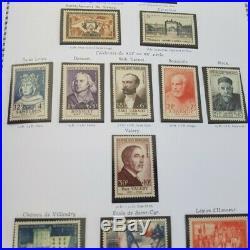 ALBUM YVERT T. 1849-1969 AVEC FEUILLES pour Collection de timbres (France)