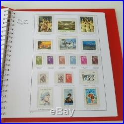 ALBUM YVERT T. 2008-2013 timbres autoadhésifs France