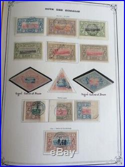 AVO! 1130 COLONIES rare collection timbres Côte des Somalis & Djibouti