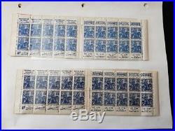 À VOS OFFRES! 170 collection timbres bande blocs carnets publicité 257 272