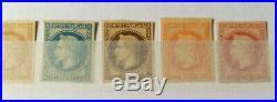 À VOS OFFRES! 270 FRANCE 8 timbres Empire Lauré de Rothschild non dentelé TB