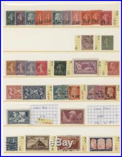 À VOS OFFRES! 514 collections timbres orphelins caisses 262 dentelé 11 colis
