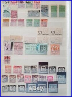 À VOS OFFRES! 697 FRANCE timbres fins catalogue colis taxe FM bloc de 4 grève