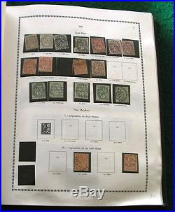 Album Yvert & Telliez avec plus de 1000 timbres tous états collection France
