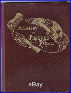 Album de timbres-poste YVERT ET TELLIER n°15