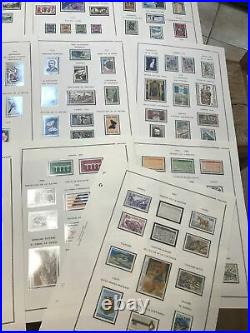 Andorre Collection 1931/1987 Sur Feuilles MOC Timbres Neufs / Cote 4100
