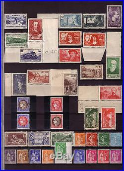 Année complète 1937, N°334 à 371&Bloc N°3 Pexip, Nluxe, Préos N°26,29&30 Calv