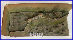 Antique CBG Mignot France Joan De Arc Diorama Câble Jouet Figurines 81435