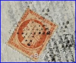 Ballon monté 28 Daguerre Cérès siège 40 c n°38 Agence Havas pour Italie 11 no 70