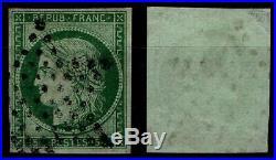 Belle Etoile pleine sur CERES n°2 = Cote 1100 / Lot Classique France