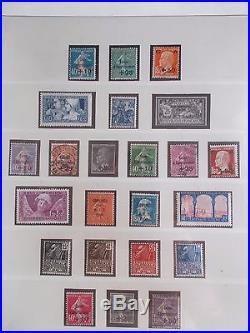 Belle collection France 1900 à 1937 neufs et quelques oblitérés côte 6100 euros