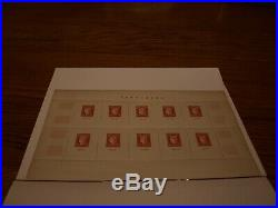 Bloc de 10 timbres VF10f (+100f.)Paris CITEX