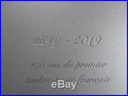 CERES PRESTIGE = COFFRET 170 ANS PREMIER TIMBRE FRANCE = FEUILLE + Annexes