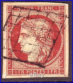 CERES n° 6 Obl signé Roumet (ref 5713)