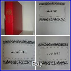 COLLECTION TIMBRES COLONIES ALGÉRIE. MAROC. TUNISIE NEUF/ dans Album Y&T