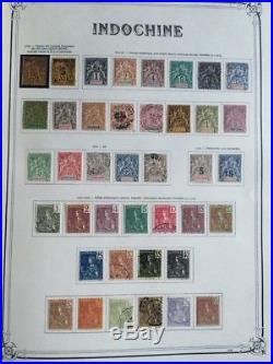 COLONIES YVERT #15 collection de timbres Indochine dt série Orphelin complète