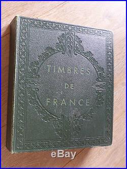 COTE + 6200 COLLECTION TIMBRES DE FRANCE DANS ALBUM YVERT TELLIER 1849 à 1990