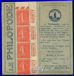 CP078a France Carnet Publicitaire N°235-CP1 Neuf LUXE