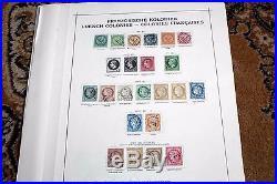 C Französische Kolonien Allg. Ausgabe STARKE Sammlung, Michel ca. 4000 Euro
