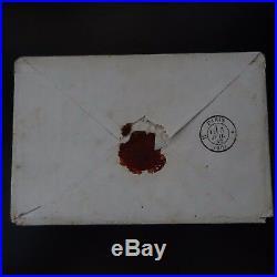 Cérès N°4 Bande De 4 Lettre Cover Pc 384 Cursive 81 Bessines Paris (député)