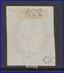 Cérès n°3, oblitéré cachet à date du 5 janv 1849 + plume, signé Roumet, TTB