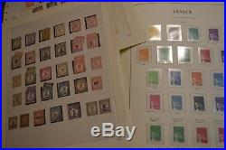 Collection FRANCE albums LEUCHTTURM 1849/2003 faciale 1600 + cote 6000