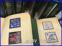 Collection France 1849/2000 En 8 Albums Cérès Présidence Cote 9000 + Matériel
