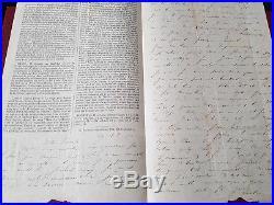 Collection ballon monté #1 gazette des absents n°2 lettre 29/10 Le Fulton Brive