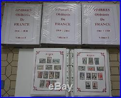 Collection de 4560 timbres oblitérés différents de France