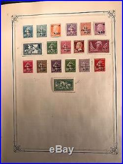 Collection timbres France classique/semi-moderne/(PA, Taxe.) dt bonnes valeurs