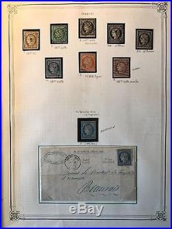 Collection timbres classiques bonnes valeurs Neufs & Oblitérés, forte cote