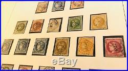 Collection timbres de France 1849 à 1953 dt 1ère émission, n°18,33 TB, 242A