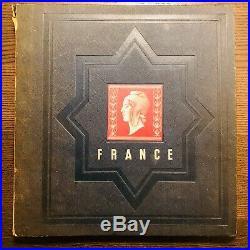 Collection timbres de France 1900 à 1945 dt PEXIP, orphelins, caisses complet TB