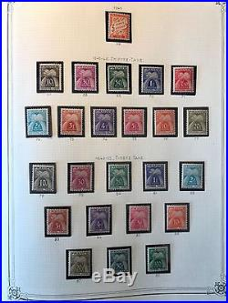 Collection timbres taxes France dt bonnes valeurs (1,4,23,24,27.) OBL & Neufs