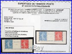 E879. FRANCE(179)1927 TTB N°242A Nsigné+certif(Scans recto verso) cote1200