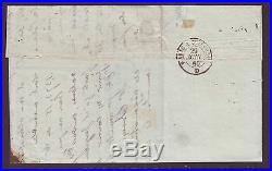 Empire n°12c X4 obli ambulant sur lettre de Lille pour Pernes, signé Roumet