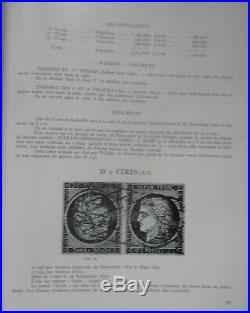 Encyclopédie des timbres de France, deux gros volumes