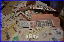 Enorme vrac france a trier 19 kgs classique samothrace gard lettres albums