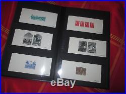 Epreuves Gravures Timbres De France 20 Albums + De 1100 Pieces