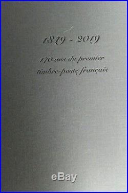 FEUILLE CERES 2019 150 TIMBRES DANS LIVRET COMPLET 1er TIMBRE FRANCAIS